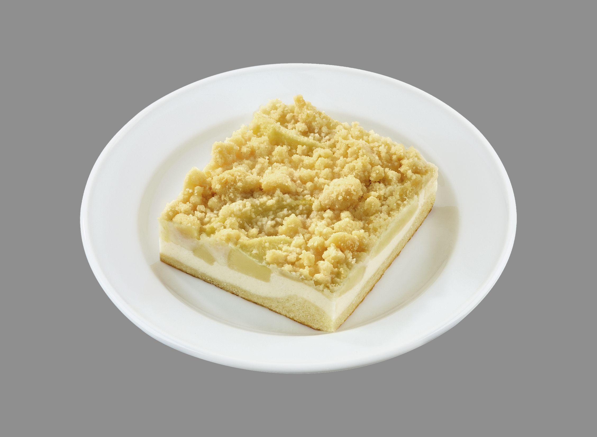 Saftiger Apfel-Streuselkuchen  (einzeln verpackt)