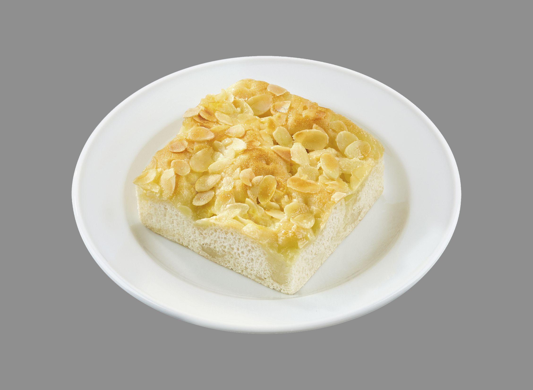 Feiner Butterkuchen mit Mandelblättern  (einzeln verpackt)