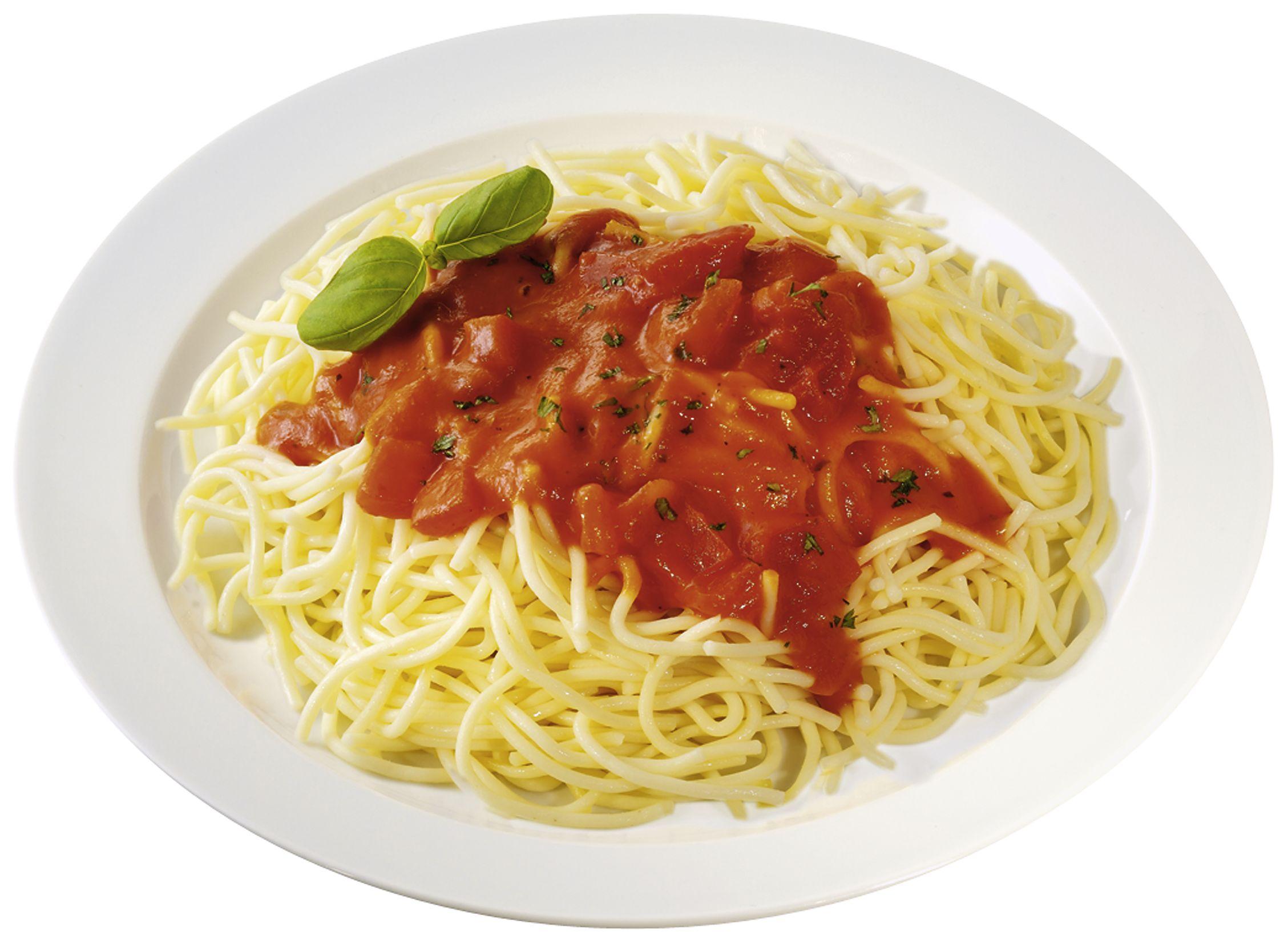 """Spaghetti """"Napoli Art""""  mit fruchtiger Tomaten-Basilikumsoße"""